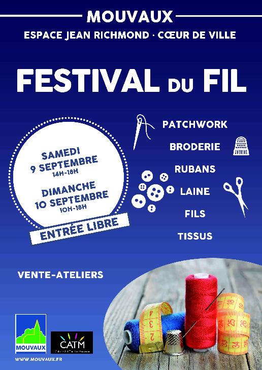 affiche festival du fil 2017